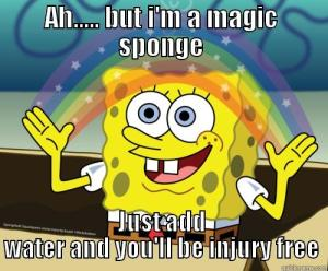 spongebob injury