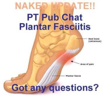 plantar fascia pain