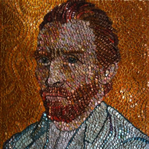 8-bottle-cap-portrait-of-van-gogh