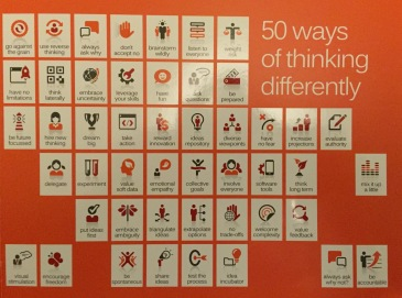 50 ways to think differently
